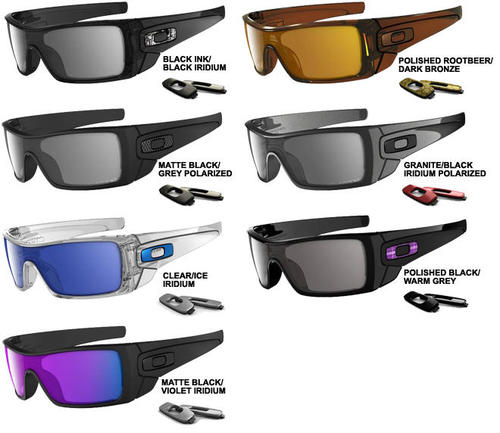 are oakley batwolf sunglasses polarized