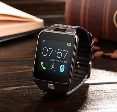 Dz09 Smart Watch And Cell Phone Bronze