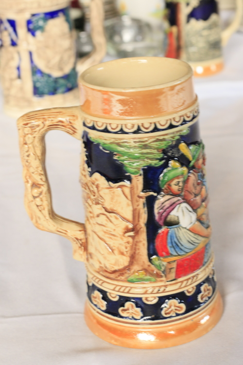 Tankards Decorated German Beer Stein Was Listed For On 9 Jun At 11 01 By Just Vintage