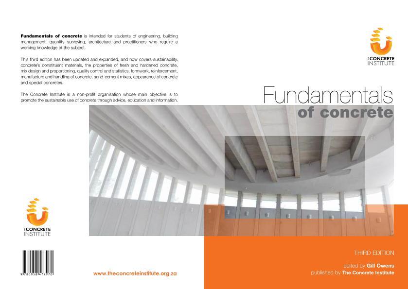 Fundamentals of Concrete 3rd Edition