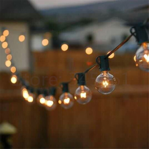 String Lights Za : Other Outdoor Lighting - Patio Lights G40 String Light,Warm White 25 Clear Vintage Bulbs 25ft ...