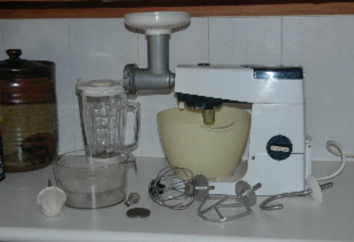 Appliances Old Model Kenwood Chef Mixer And Attachments