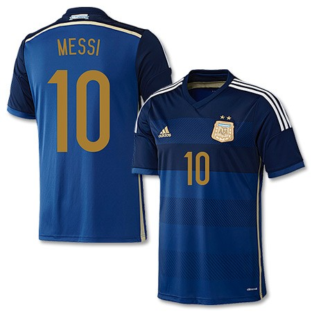 Apparel Brand New Argentina Messi World Cup Away Jersey L In Stock Was Sold