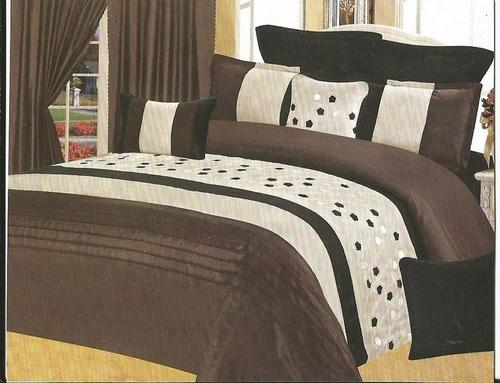 queen queen size comforter set brown black and sand 11 piece queen size comforter set was. Black Bedroom Furniture Sets. Home Design Ideas