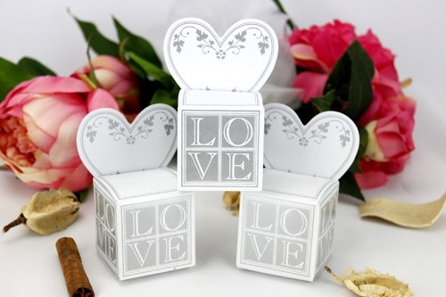 Wedding Favours & Gifts - Wedding favour gift boxes - Place card gift ...