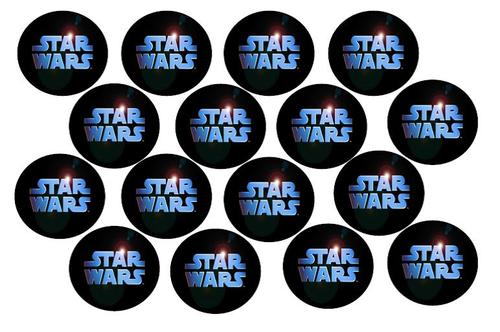 Cake Decorating - Star Wars Cupcake Toppers - wafer/rice ...