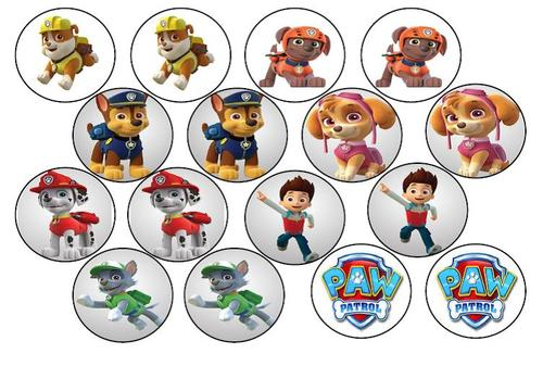 cake decorating paw patrol edible picture cupcake toppers was sold for on 1 jun at 00. Black Bedroom Furniture Sets. Home Design Ideas