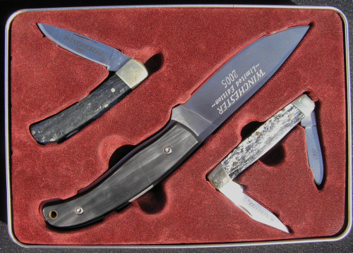 Knives Winchester 2005 Limited Edition 3 Knife Set In