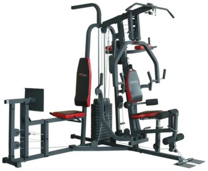 Home gyms trojan power station multi gym with leg press was