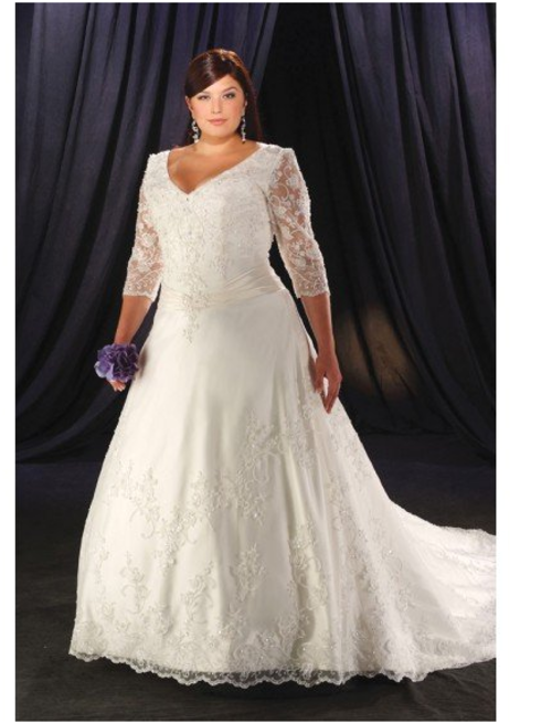 wedding dresses wedding dress for the fuller figure was