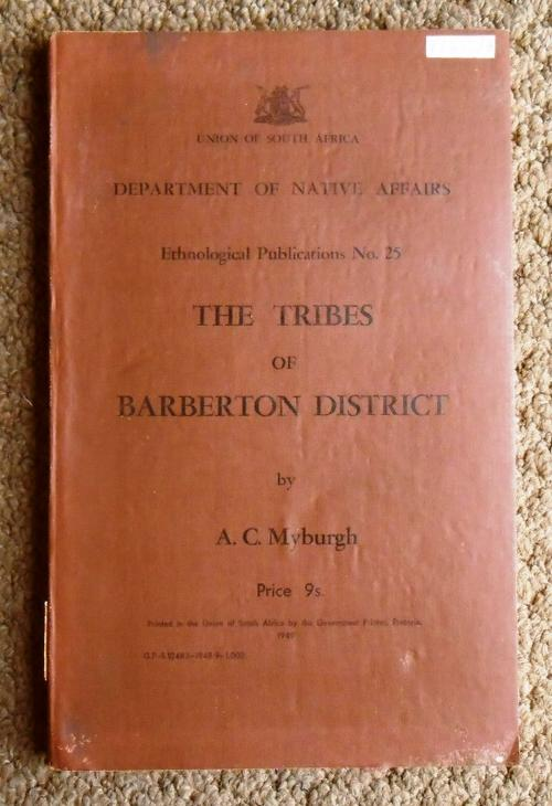 the tribes of barberton district