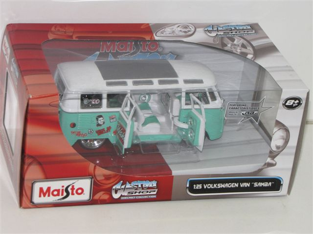 Models - Maisto VW Van Custom Shop was sold for R199.90 on 15 Feb at