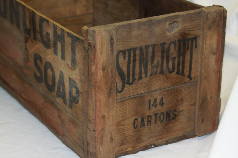 Other Kitchenalia Wow An Awesome Large Sunlight Soap Wood Crate
