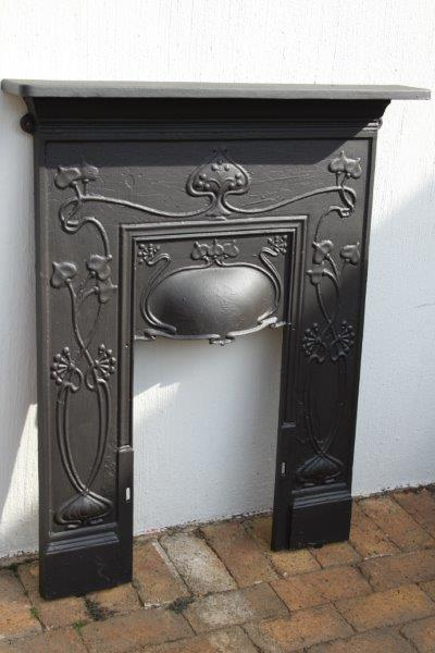 Fire Accessories - ABSOLUTELY STUNNING LARGE ANTIQUE CAST IRON ...