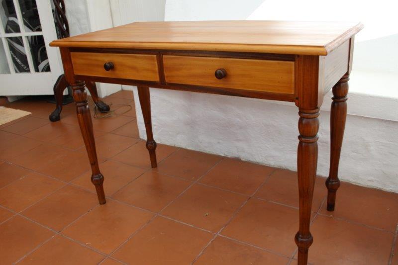 Desks Exquisite Solid Yellow Wood African Blackwood Fechters