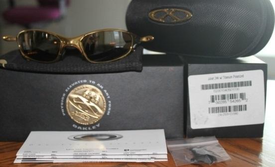 Sunglasses - Oakley Juliet 24K Elite Titanium Rare Limited Edition ... b394ff8815