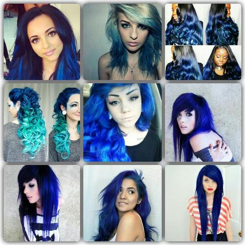 Types Of Blue Hair Dye | Find your Perfect Hair Style