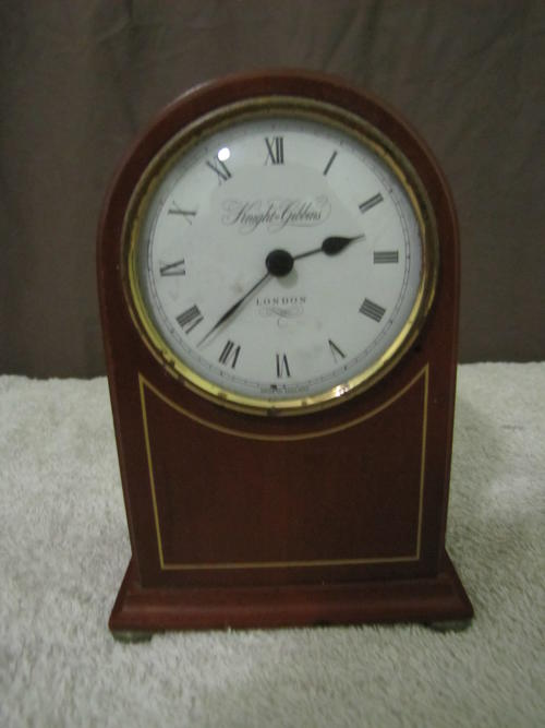 Mantel Clocks Knight Gibbins Clock Not Working Was