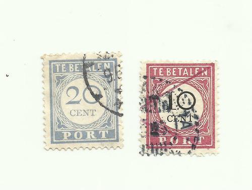 Te betalen port stamp