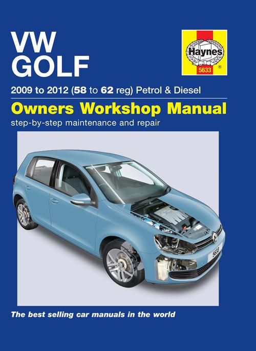 workshop manuals haynes 5633 volkswagen golf vi 2009 to 2012 rh bidorbuy co za vw golf vi owners manual pdf vw golf 6 owners manual