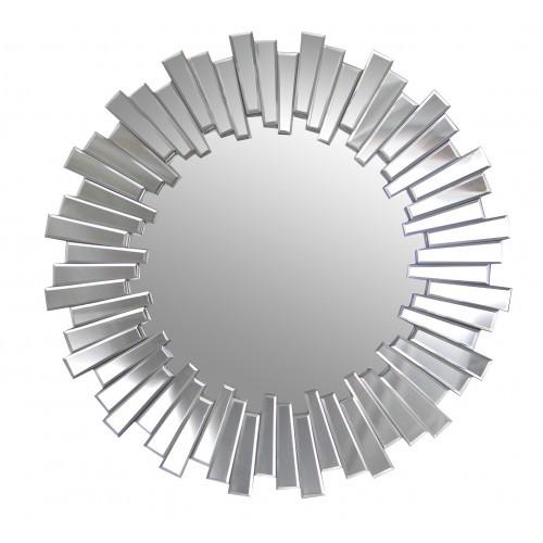 Mirrors mirror framed mirror round starburst 80 cm x 80 for Mirror 80 x 80