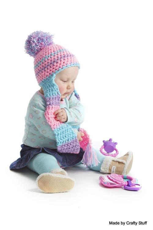 Hats   Caps - Crafty Stuff  Crochet Beanie-Scarf in any colour you ... 2dc8ecc2f97