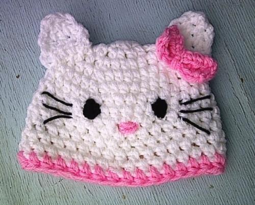 Beanies Caps Hats Crafty Stuff Crochet Baby Hello Kitty Beanie