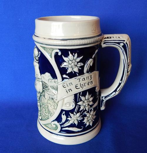 Porcelain Ceramic A G Wick Werke Stoneware German Beer Stein Circa 1930 Was Sold For R325