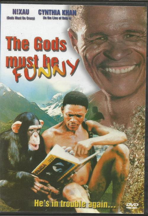 the gods must be crazy strong The gods must be crazy is a 1980 film about a traveling bushman who  in any  slapstick comedy, the gags must rest on a solid basis of logic: it's not funny to.