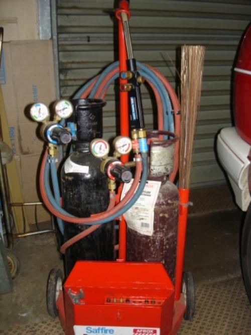 Welding Afrox Portapak Oxy Acetylene Welding Kit Was