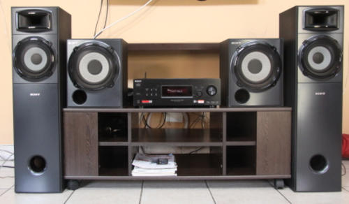 home theatre systems sony mgongo 2 2 channel home theater system was sold for r3 on 18. Black Bedroom Furniture Sets. Home Design Ideas