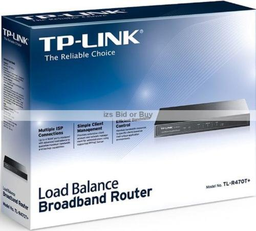 TP- Link Multi WAN Load Balance Broadband Router ***Multiple ISP  Connections***