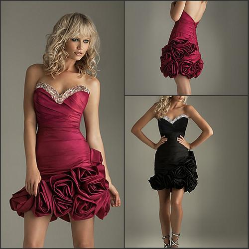 Short matric farewell dresses images