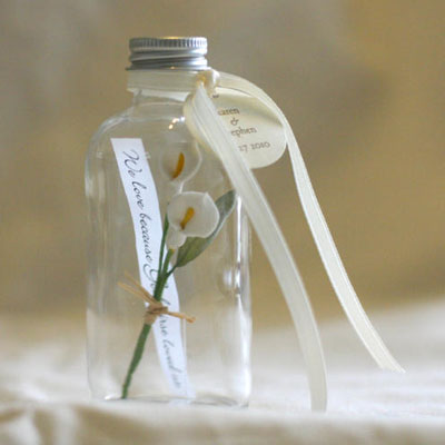 Weddings - DIY WEDDING FAVOR BOTTLE for A MESSAGE IN A BOTTLE was ... d1f79c225683