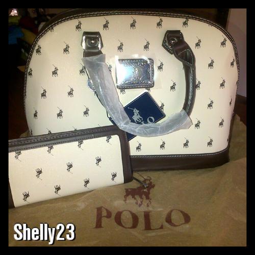 7d0a0dc1d9 Handbags & Bags - POLO LADIES SET - HANDBAG and WALLET **Last Set of ...