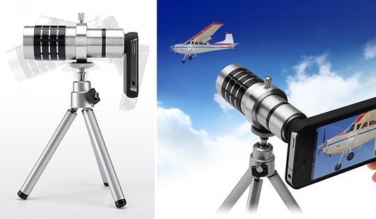 Other accessories iphone telephoto zoom lens x10 zoom phone camera