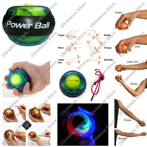 Balls Powerball Gyroscope Exerciser Led Wrist Strengthener Power Ball Arm Training Was Sold For R90 00 On 15 Feb At 16 31 By Christmas Store In Johannesburg Id 176121646