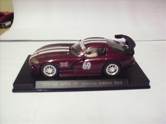 1 32 Scale Slot Car Fly Dodge Viper Uk Special Edition Red