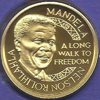 Other Mandela Coins Nelson Mandela 1 10th Oz Gold