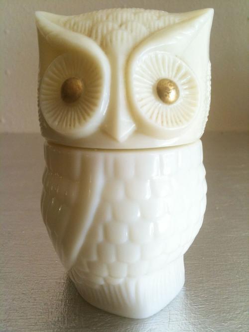 perfume  u0026 scent bottles - vintage avon owl perfume container