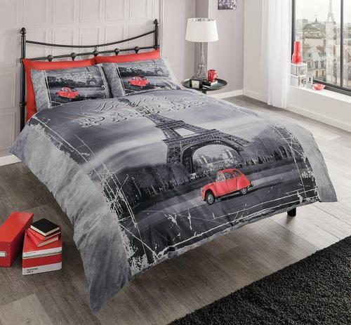 Pillows Retro Paris Duvet Set French Was Sold For R649 00 On 2 May At 20 46 By Toys And Parties In Cape Town Id 183744517