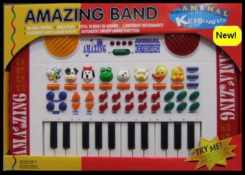Musical Toys Age 7 : Musical toys instruments kids amazing band with
