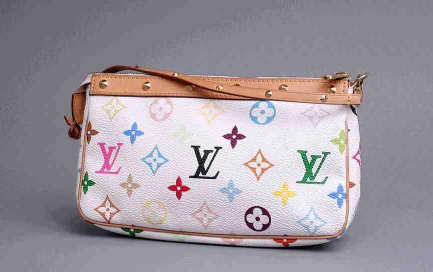 100 Authentic Louis Vuitton Multicolor Handbag Made In France