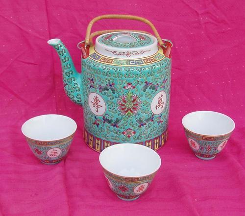 Oriental Porcelain - CRAZY R1 SALE~STUNNING VINTAGE HAND DECORATED ...