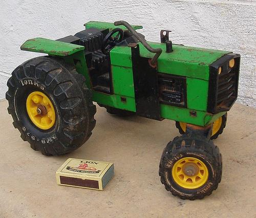 Vintage Tonka Tractors : Other antiques collectables collectable vintage large