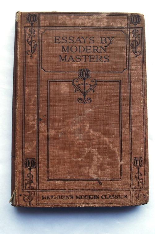 non-fiction essays modern