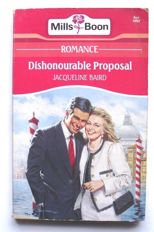 Dishonourable proposal jacqueline baird