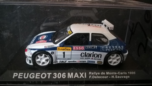 Models - Rally cars: Peugeot 306 Maxi was listed for R100.00 on 26 ...
