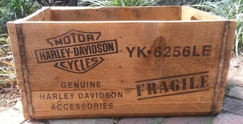 Other Home Decor Harley Davidson Xl Wooden Crates Was Sold For