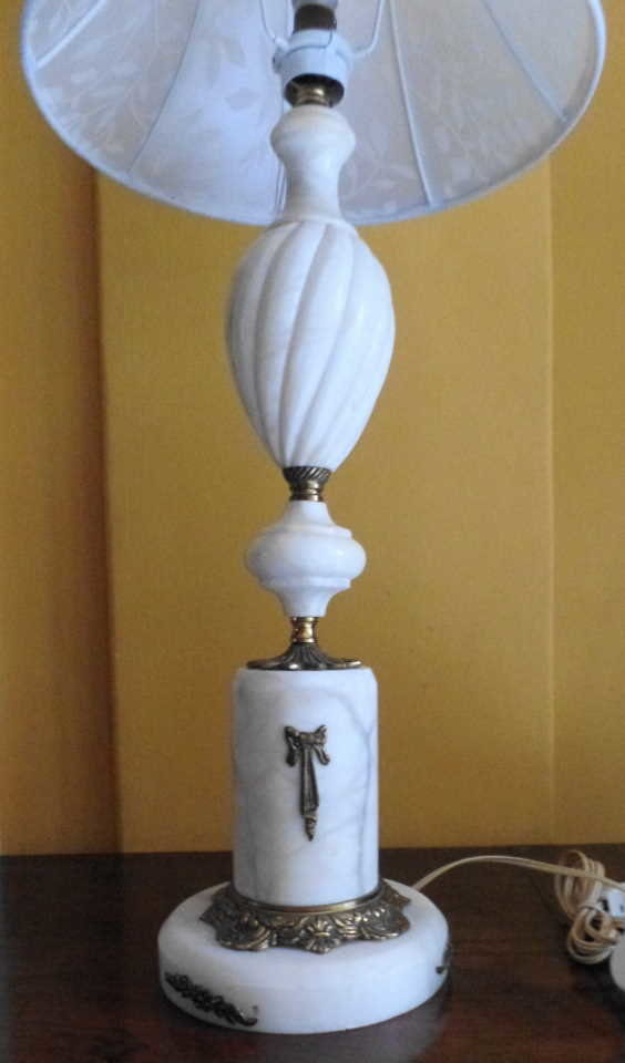 mrble table lamp